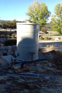 Bio-filtro para tratamento de odores