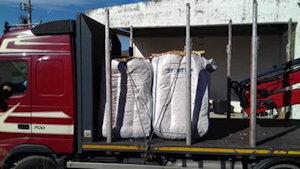 1. Estilha destinada ao leito de biomassa
